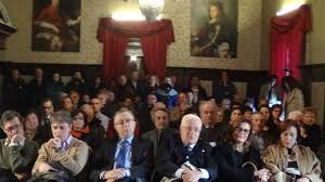 Foto sala rossa del Palazzo dei duchi Del Balzo di Presenzano