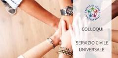 COLLOQUI SERVIZIO CIVILE UNIVERSALE
